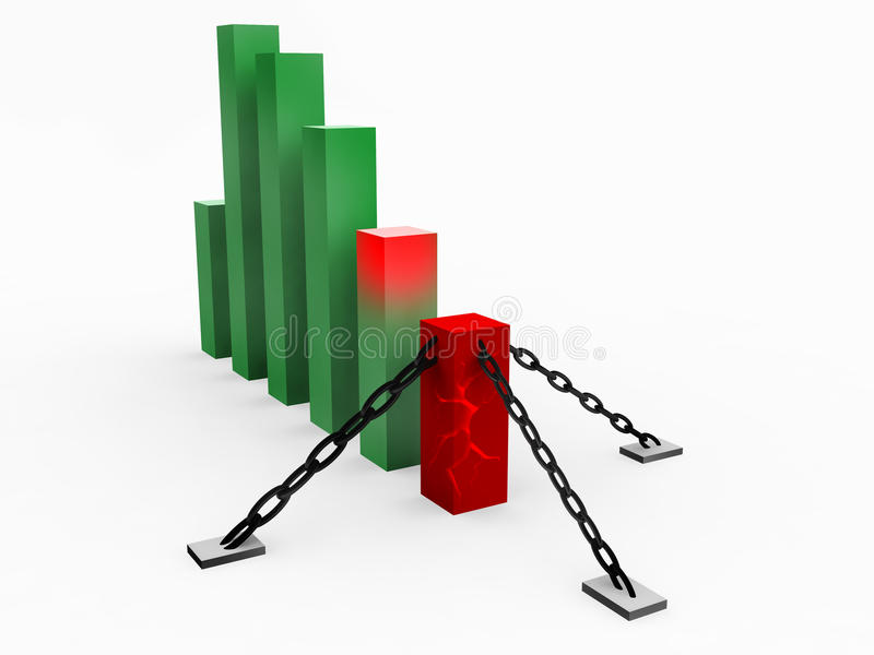 Development Graph stock images