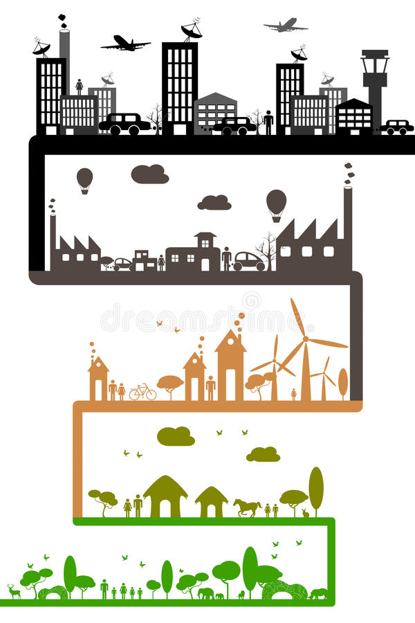 Download Development of Industry stock vector. Illustration of generation - 20424669