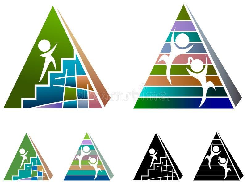Development logo royalty free illustration