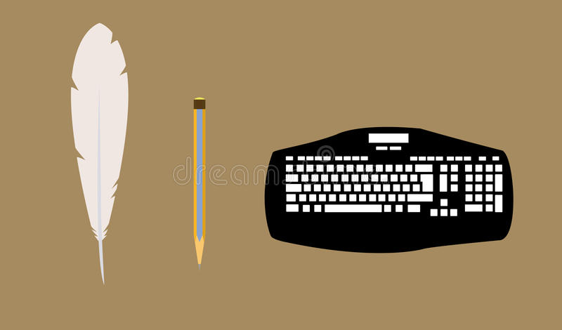 Download Development Of Means For Correspondence Stock Vector - Illustration of disarray, illustration: 16265288
