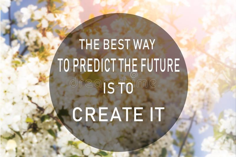 Development, personal growth , Motivational quote , creation of royalty free stock photography