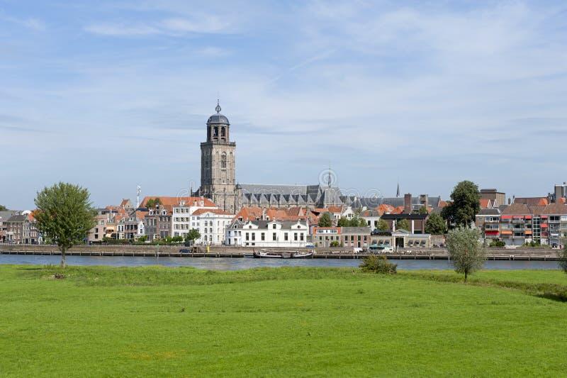 Deventer, Nederland stock afbeelding