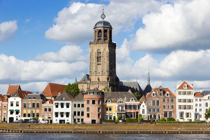 Deventer - os Países Baixos imagem de stock royalty free