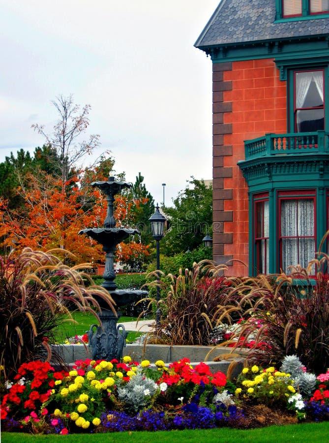 Download The Deveraux Mansion Heritage Gardens, Salt Lake City Stock Photo - Image: 1412692