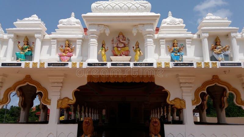 Devi Pavnai Temple fotografía de archivo libre de regalías