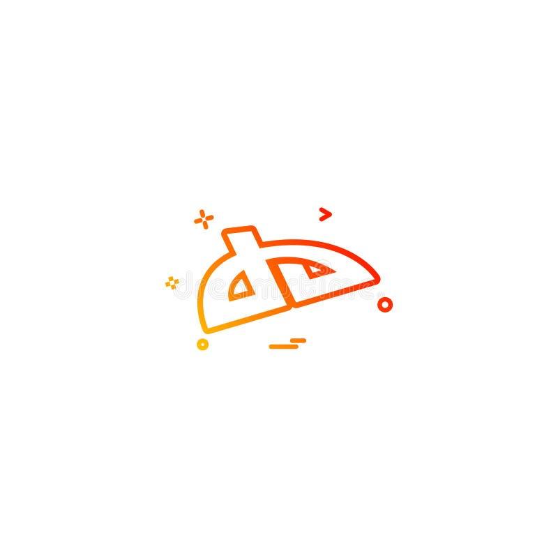 deviantart de vector van het pictogramontwerp royalty-vrije illustratie