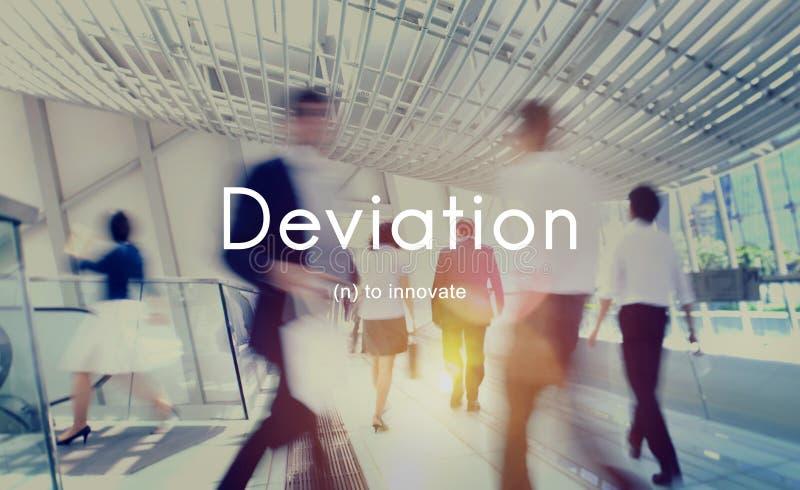 Deviation Innovate Changes Development Improvement Concept. People Have Deviation Innovate Changes Development Improvement stock photos