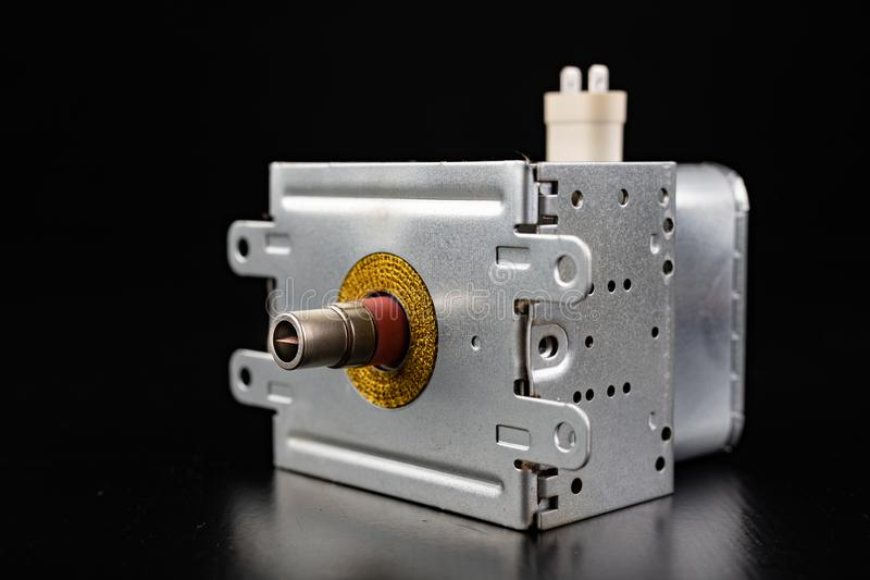 A device for generating microwave radiation. Spare parts for microwave stock images