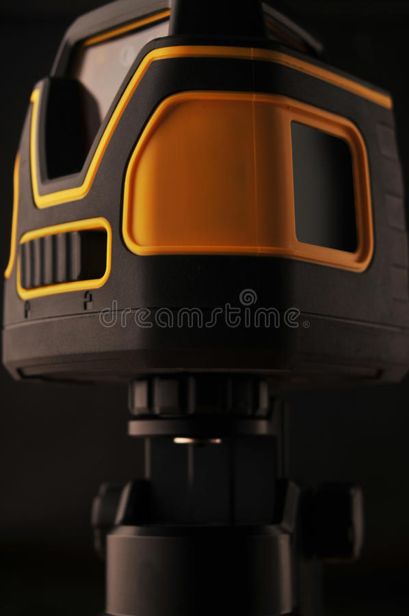 Device laser level royalty free stock images