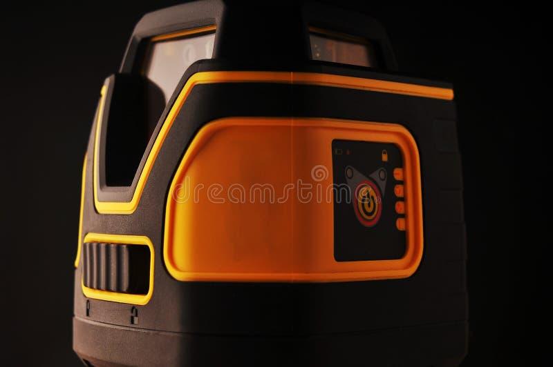 Device laser level stock photo