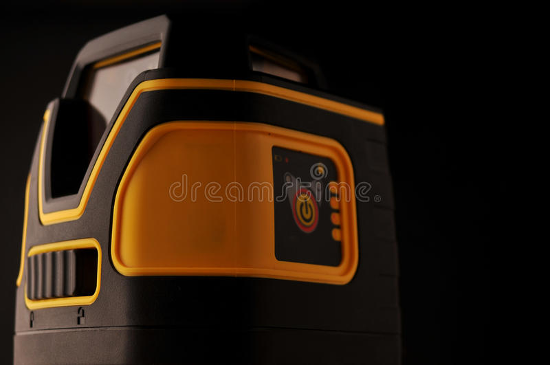 Device laser level royalty free stock photos