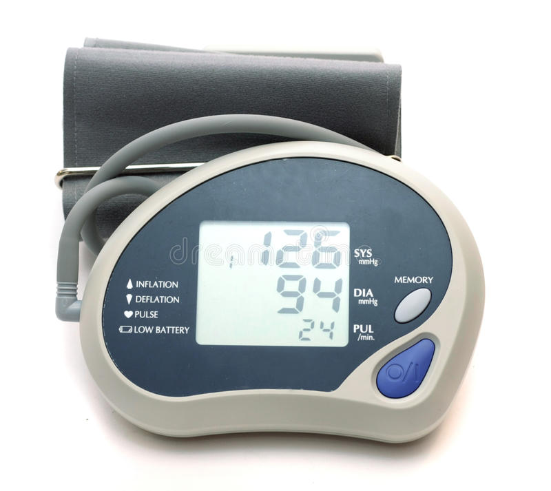 Download The Device For Pressure Measurement Stock Image - Image of objects, hospital: 12924269