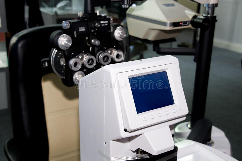 Download Device To The Sight Testing Stock Photo - Image: 11017854