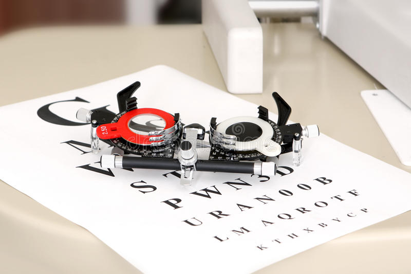 Download Device To The Sight Testing Stock Photo - Image: 11391370