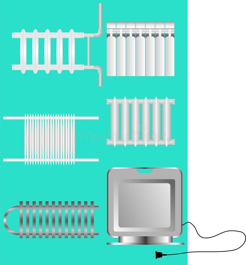 Download Devices Heating Facilities. Stock Vector - Image: 24358890