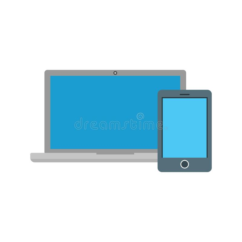 Devices. Web, devices, laptop icon vector image. Can also be used for web. Suitable for use on web apps, mobile apps and print media vector illustration