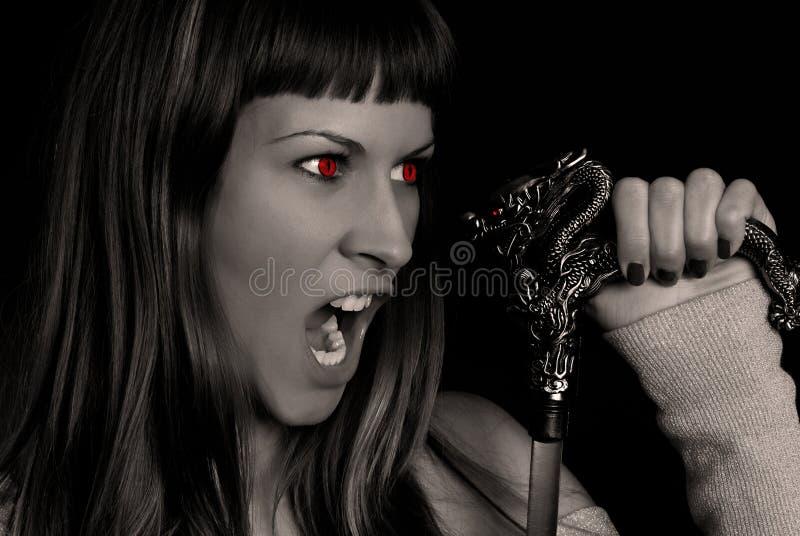 Download Devil stock image. Image of girls, model, devil, eyes - 2352783