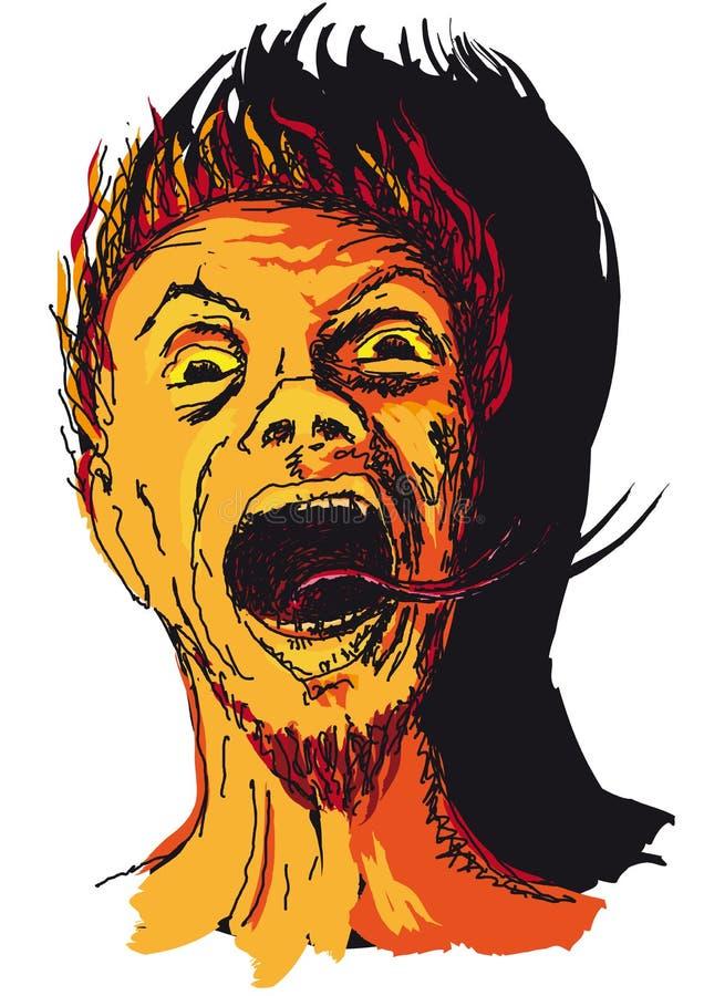 Download Devil stock illustration. Image of cartoon, monster, hell - 23992683