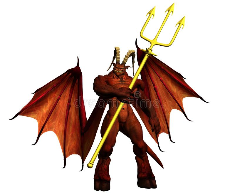 devil stock photo