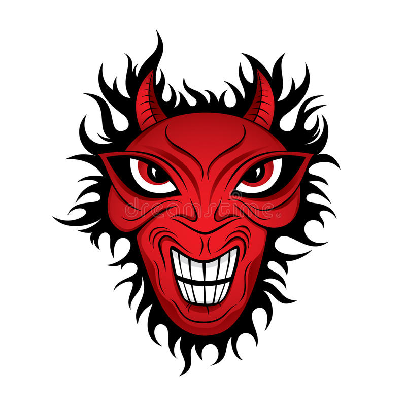Download Devil Demon Horror Face Illustration Stock Photography - Image: 13424492