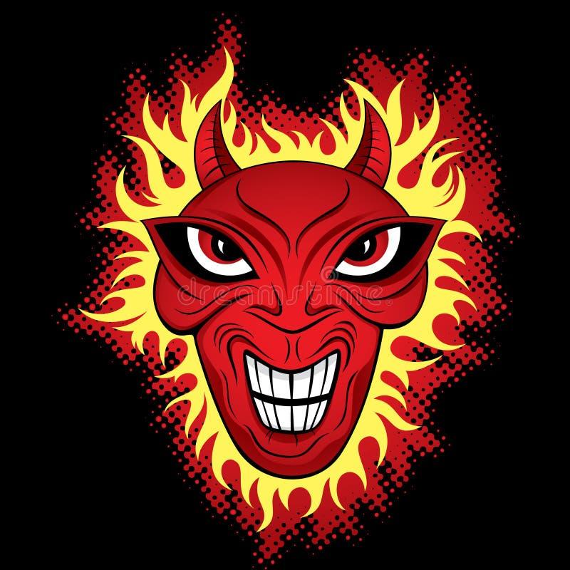 Download Devil Demon Horror Face Illustration Stock Images - Image: 13424524