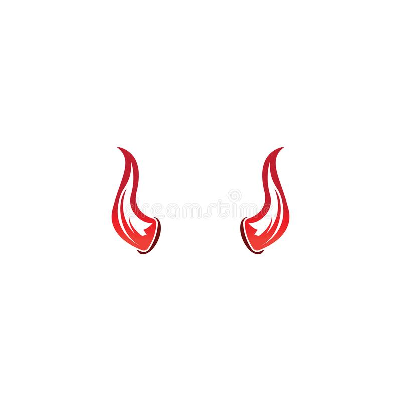 Free Devil Horn Vector Icon Logo Design Illustration Template Stock Photo - 170952060