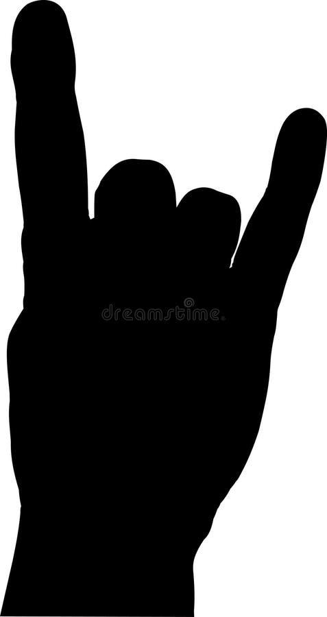 Download Devil Horns Hand Gesture stock vector. Illustration of devil - 4567446