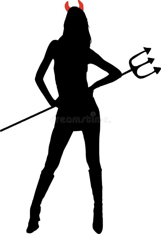 Download She-devil Isolated  Illustration Stock Vector - Illustration: 12078549
