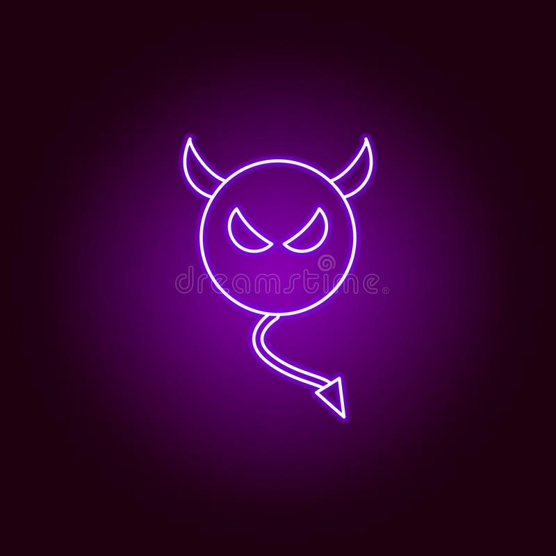 Devil Neon Stock Illustrations 239 Devil Neon Stock Illustrations Vectors Clipart Dreamstime