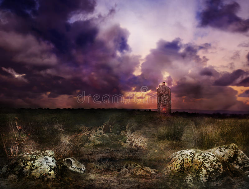 Devil's Lodge royalty free stock photography