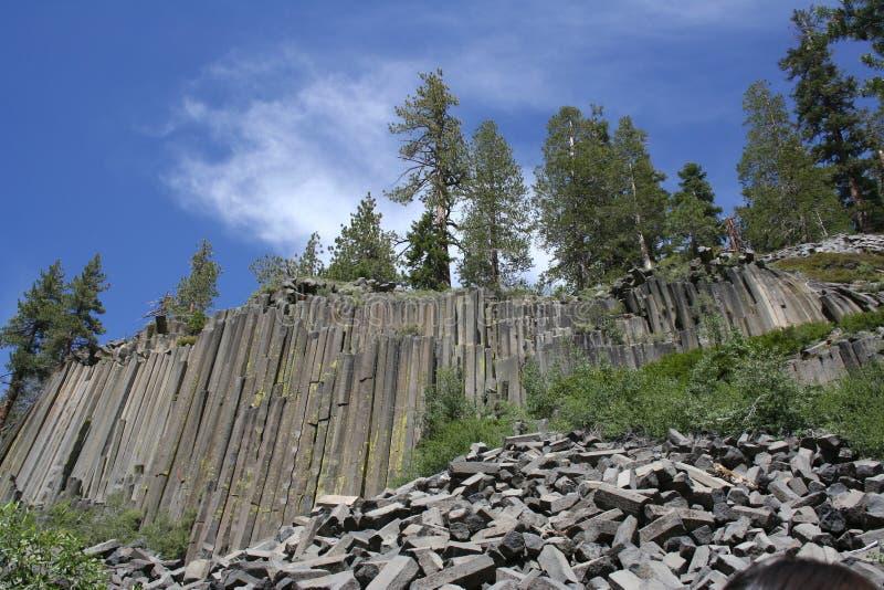 Devil's Postpile National Monument stock photography