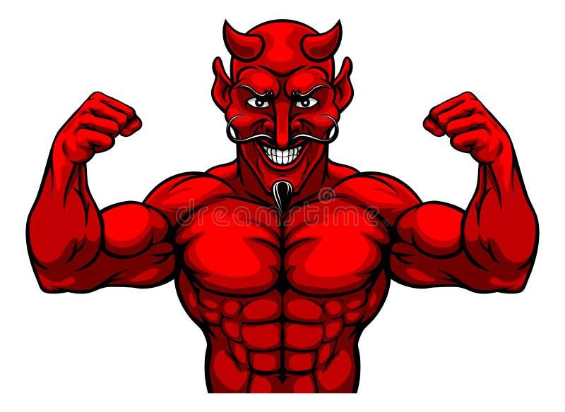 Muscular Devil Stock Illustrations – 140 Muscular Devil Stock  Illustrations, Vectors & Clipart - Dreamstime