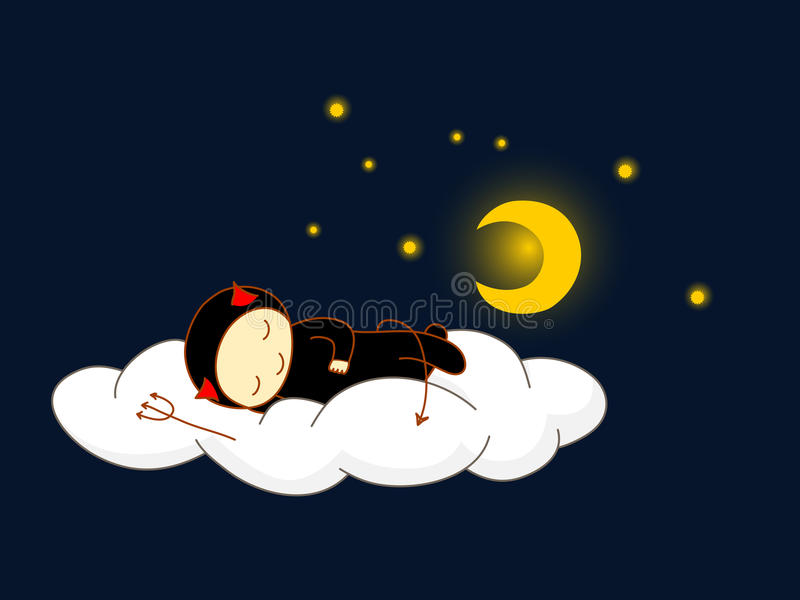 Download Devil Sleeping. Royalty Free Stock Photos - Image: 22176738