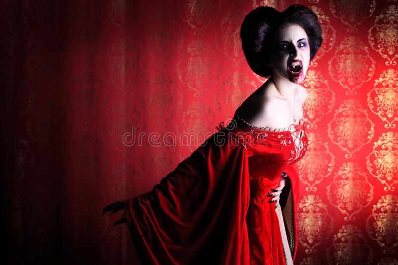 Download Devil woman stock image. Image of female, eyes, bloodthirsty - 26713469