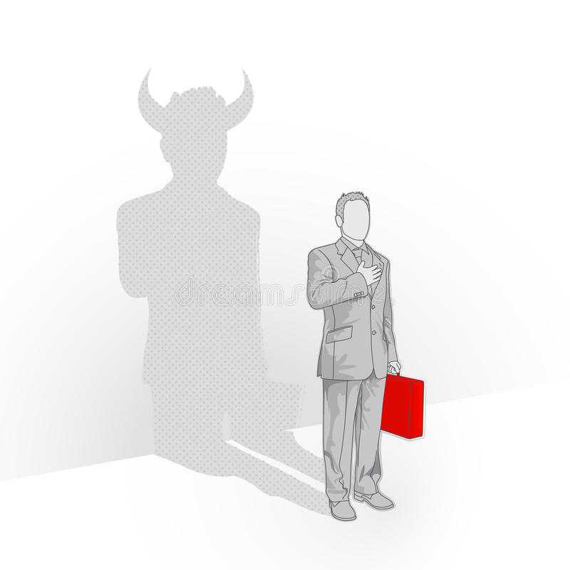 Download Devil You Know stock vector. Image of diverse, choice - 12625162