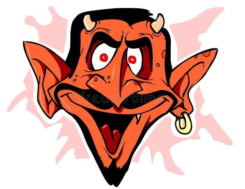 devil1 向量例证