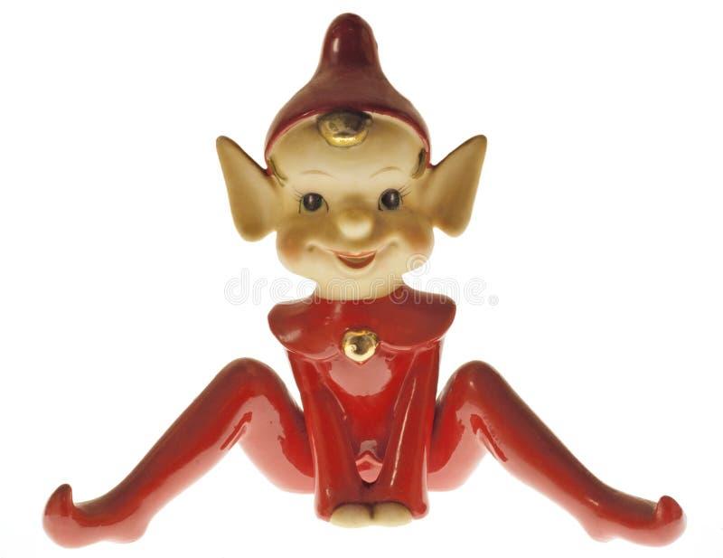 Devilish Elf-Elf stockfotografie