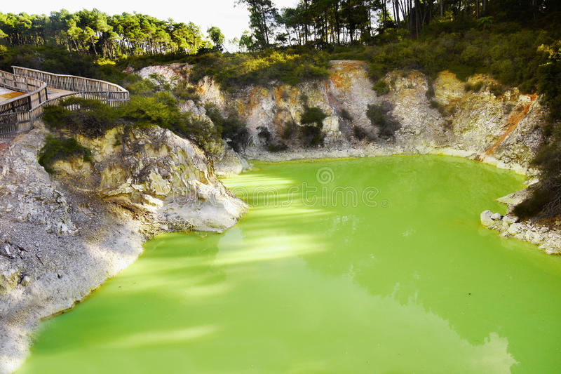 Devils Green Lake royalty free stock images