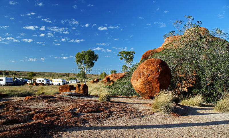 Download Devils Marbles stock image. Image of holiday, australia - 15942573