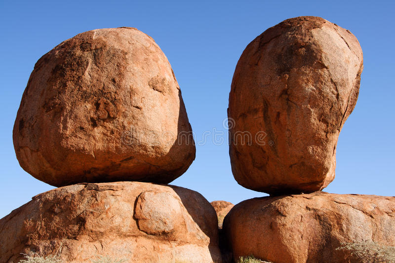 Download Devils marbles stock image. Image of conservation, australia - 26684733
