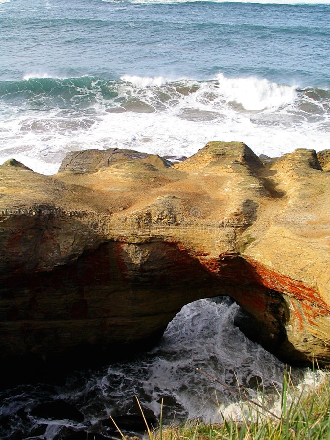 Devils punchbowl stock photography