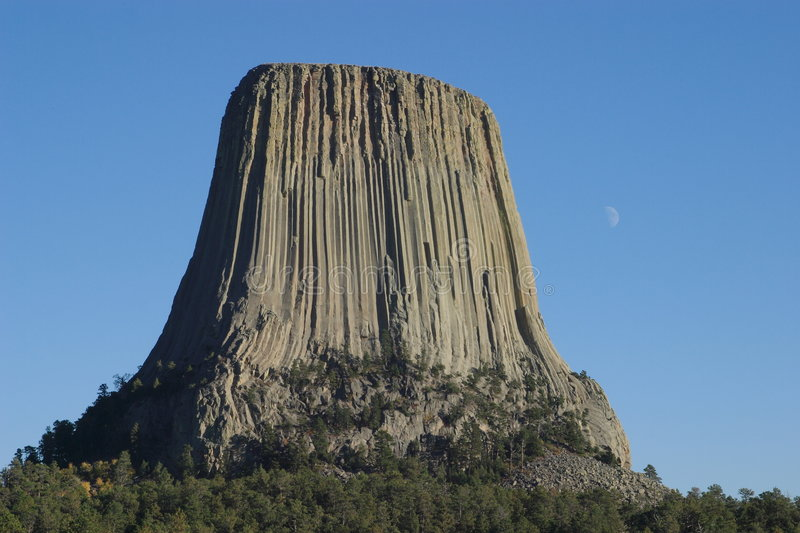 Download Devils Tower stock photo. Image of attraction, tourist - 1413470