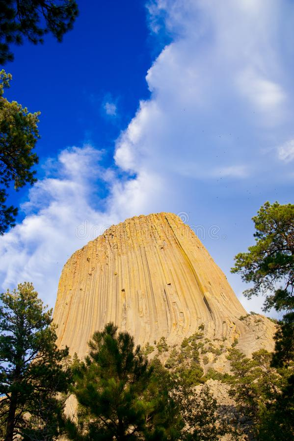 Devils Tower is located in in Crook County, northeastern Wyoming. Also, known as United States National Monument. The world is big. Enough to explore stock photography