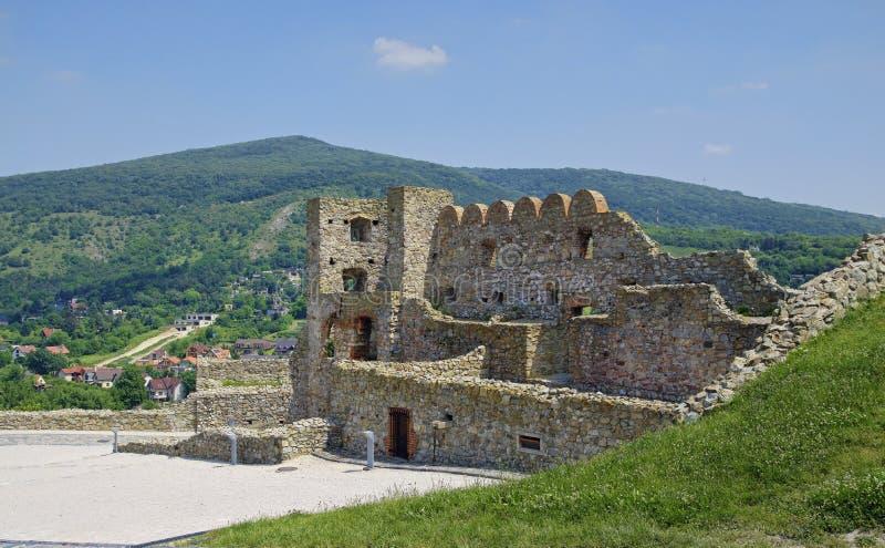 The Devin castle stock images