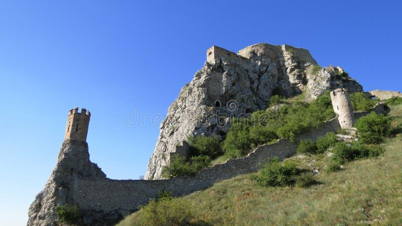 Devin Castle stock photos