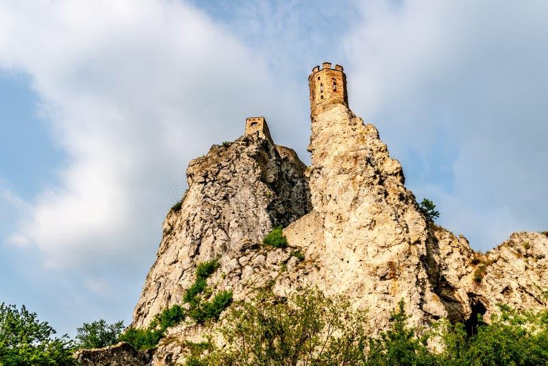 Devin Castle Slovakia 40 stock afbeelding