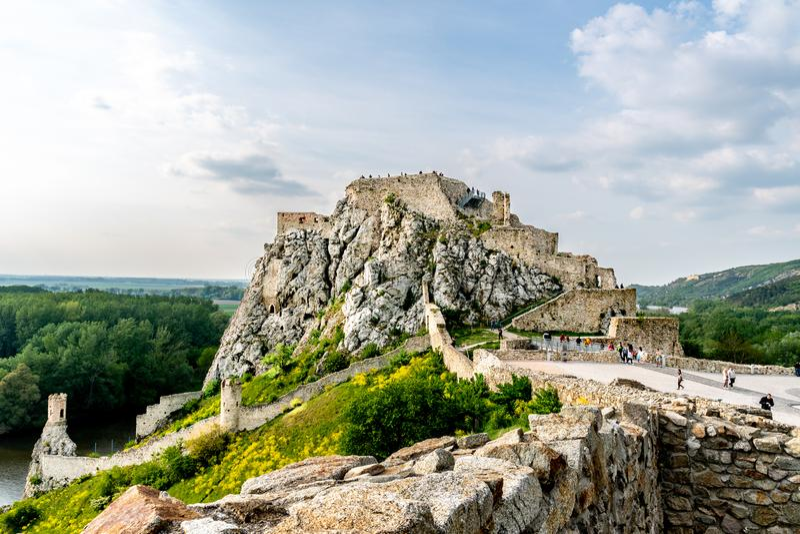 Devin Castle Slovakia 08 fotografia de stock royalty free