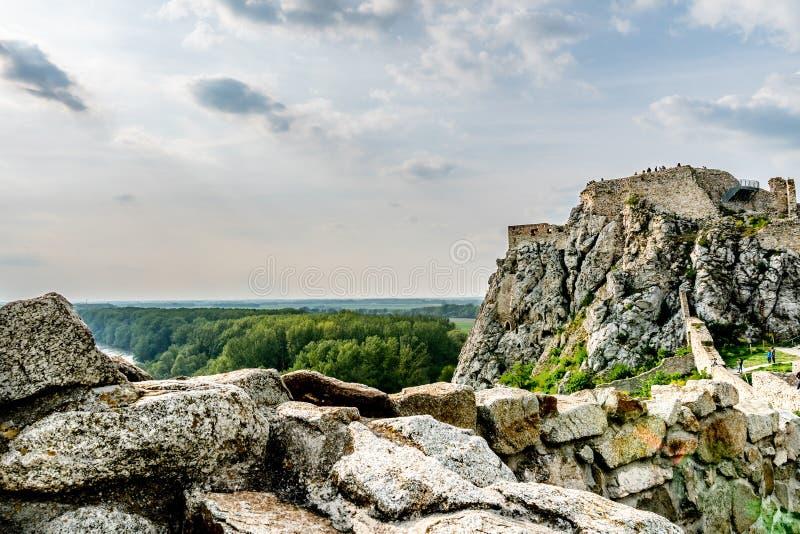 Devin Castle Slovakia 09 foto de stock