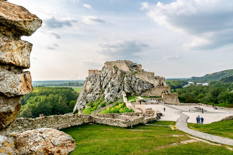 Devin Castle Slovakia 10 fotografia de stock royalty free