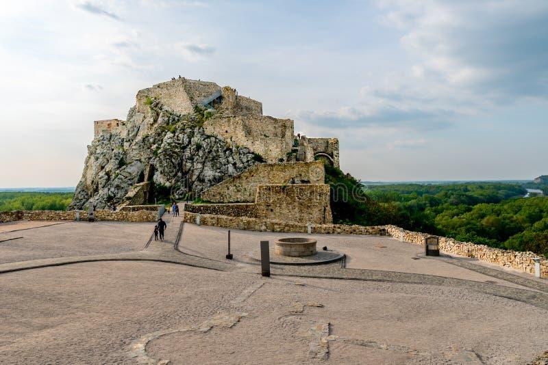 Devin Castle Slovakia 18 imagem de stock royalty free